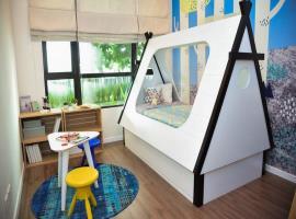 Phòng ngủ nhỏ tại dư án Riviera Point