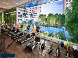 Phòng tập gym tại dự án Athena Fulland