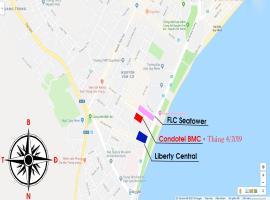 Vị trí  dự án Codetel Liberty Cental Quy Nhơn