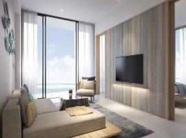 Hình ảnh căn hộ mãu 2 dự án Codetel Liberty Cental