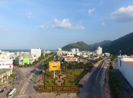 Trục đường Lý Thái Tổ trung tâm thành phố Quy Nhơn