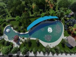 Bể bơi tại dự án Hưng Thịnh Golden land