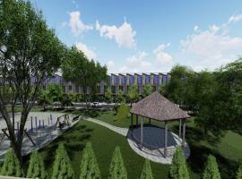 Không gian xanh dự án Hưng Thịnh Golden land