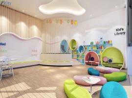Tiện ích khu vui chơi trẻ em dự án căn hộ chung cư