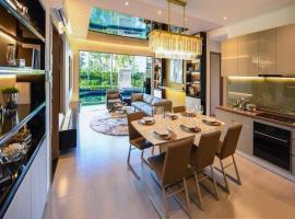 Bếp căn hộ dự án D'lusso Emerald