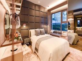 Phòng ngủ lớn dự án D'lusso Emerald
