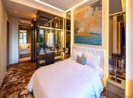 Phòng ngủ tại dự án D'lusso Emerald