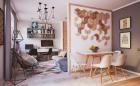 Bài trí nội thất chuẩn cho căn hộ nhỏ