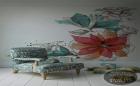 Đẹp ngất ngây những mẫu giấy dán tường họa tiết hoa cực đại