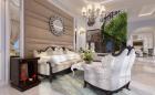 Thiết kế nhà 3 tầng nở hậu mang phong cách bán cổ điển