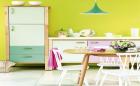 Gợi ý cách phối màu tinh tế cho gian bếp