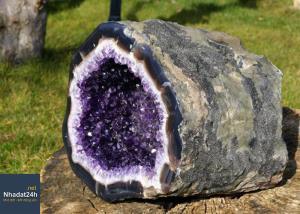 Ý nghĩa của đá thạch anh tím trong phong thủy