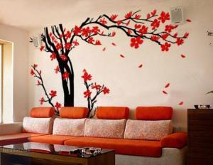 Hô biến nhà đầy sắc xuân nhờ giấy dán tường độc đáo